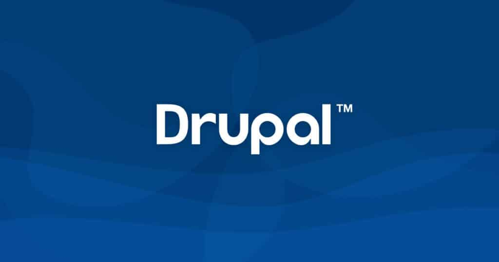 creating a website using Drupal