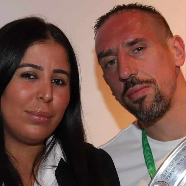 This is frank ribery wife photo