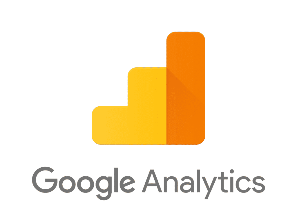 Google Analytics logo for a new website