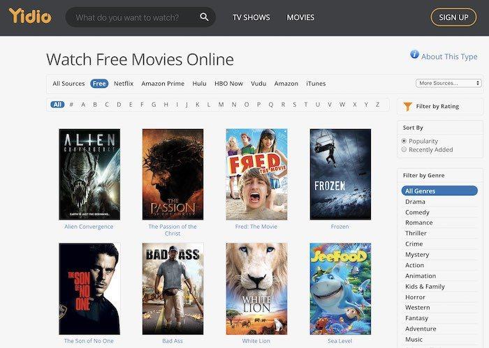 yidio movie download