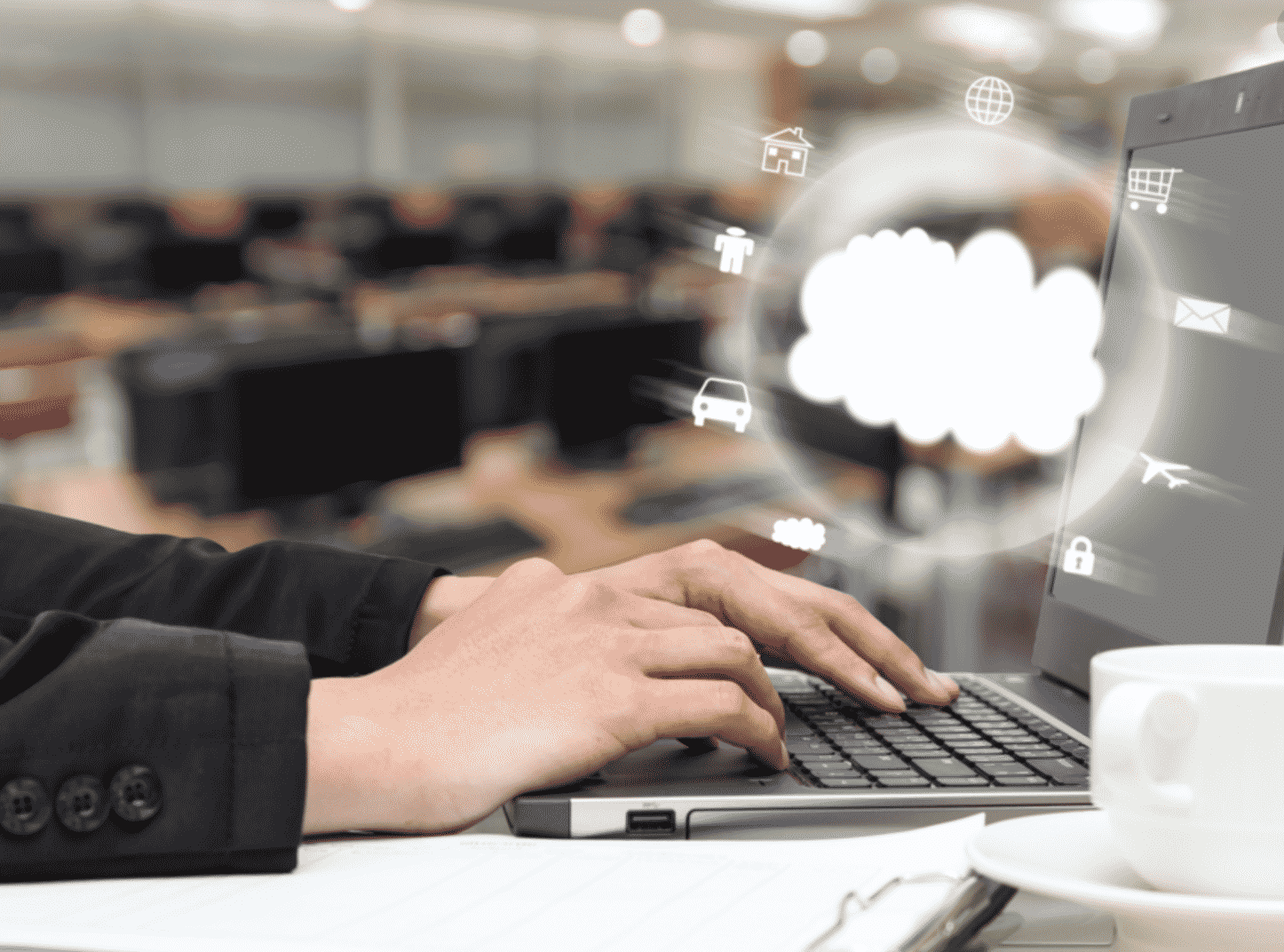 What is Cloud Computing? What are the various features of Cloud Computing?