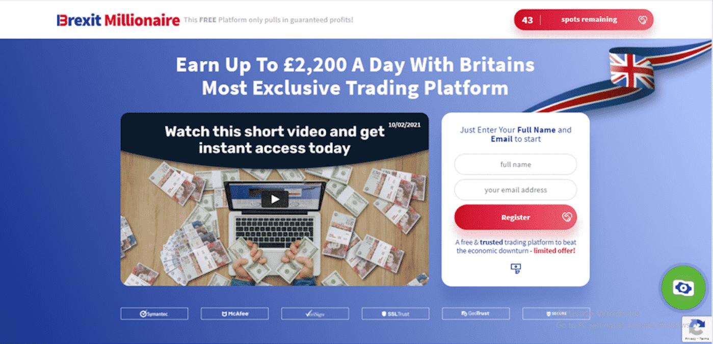 Brexit Millionaire Reviews 2021 – Scam Or Legit App?